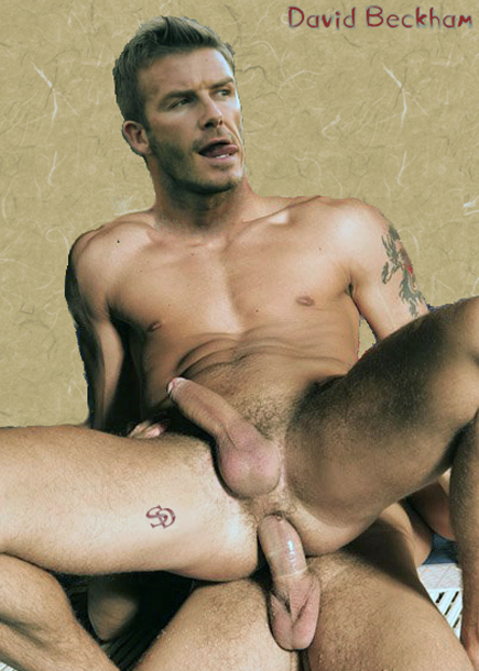 David beckham gay nude