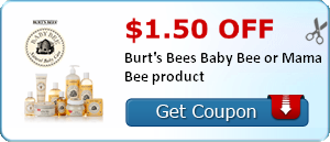 Burt's Bees Printable Coupon