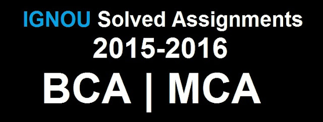 Solved Assignments