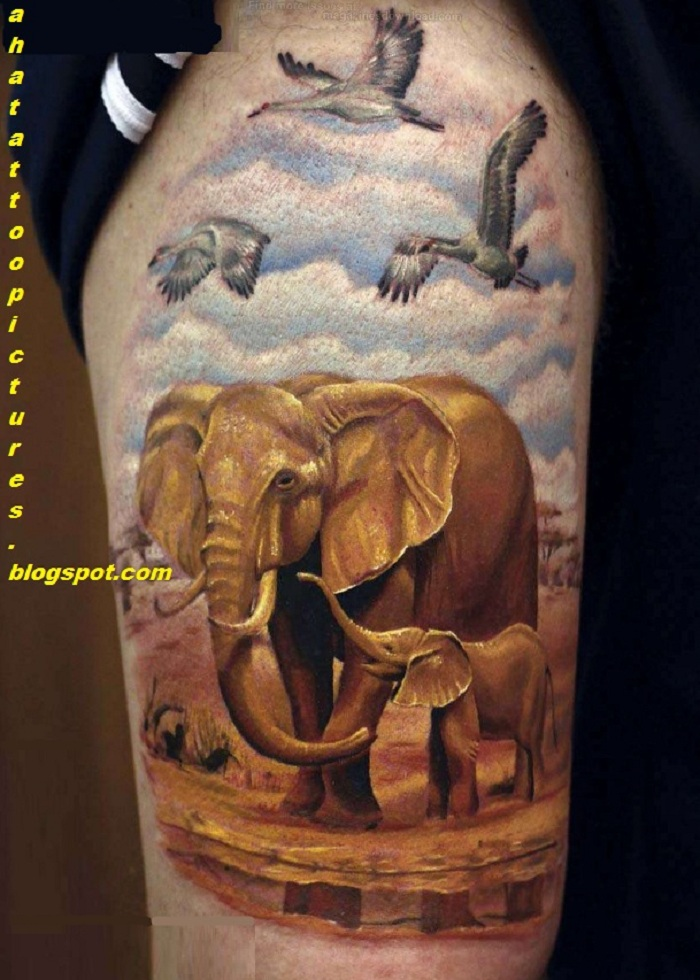 Tattoos For Guys Wildlife_tattoo_newjpg