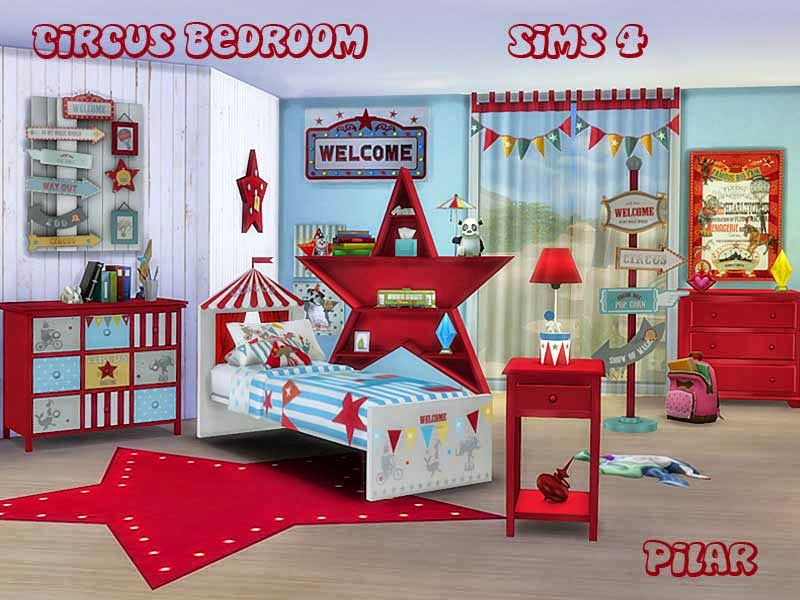 01-05-2015 Circus Bedroom