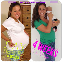 post baby transformation