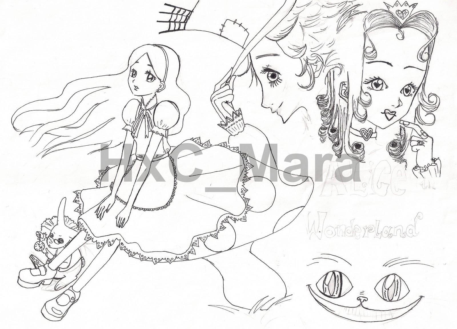 Los shoujos de Mara: Mis dibujos (I)