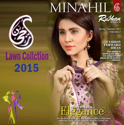 Rujhan Minahil Summer Lawn Collection 2015 Vol 1