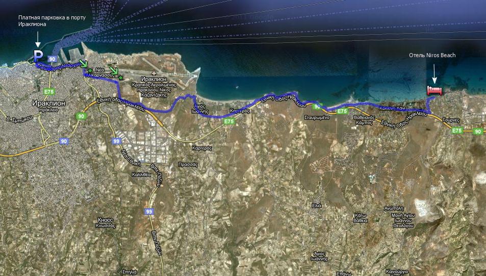 Схема маршрута транспортного средства фото 429