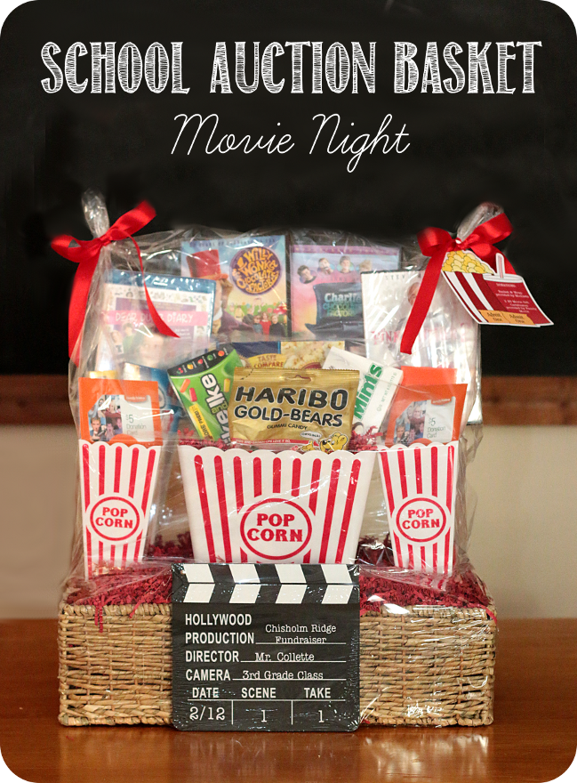 School Auction Basket Movie Night