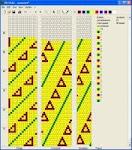 Software para Diseñar cordones de mostacillas con crochet (Bead Crochet)