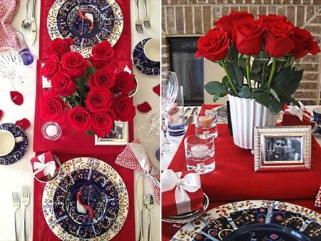 Декорация на маса за Свети Валентин