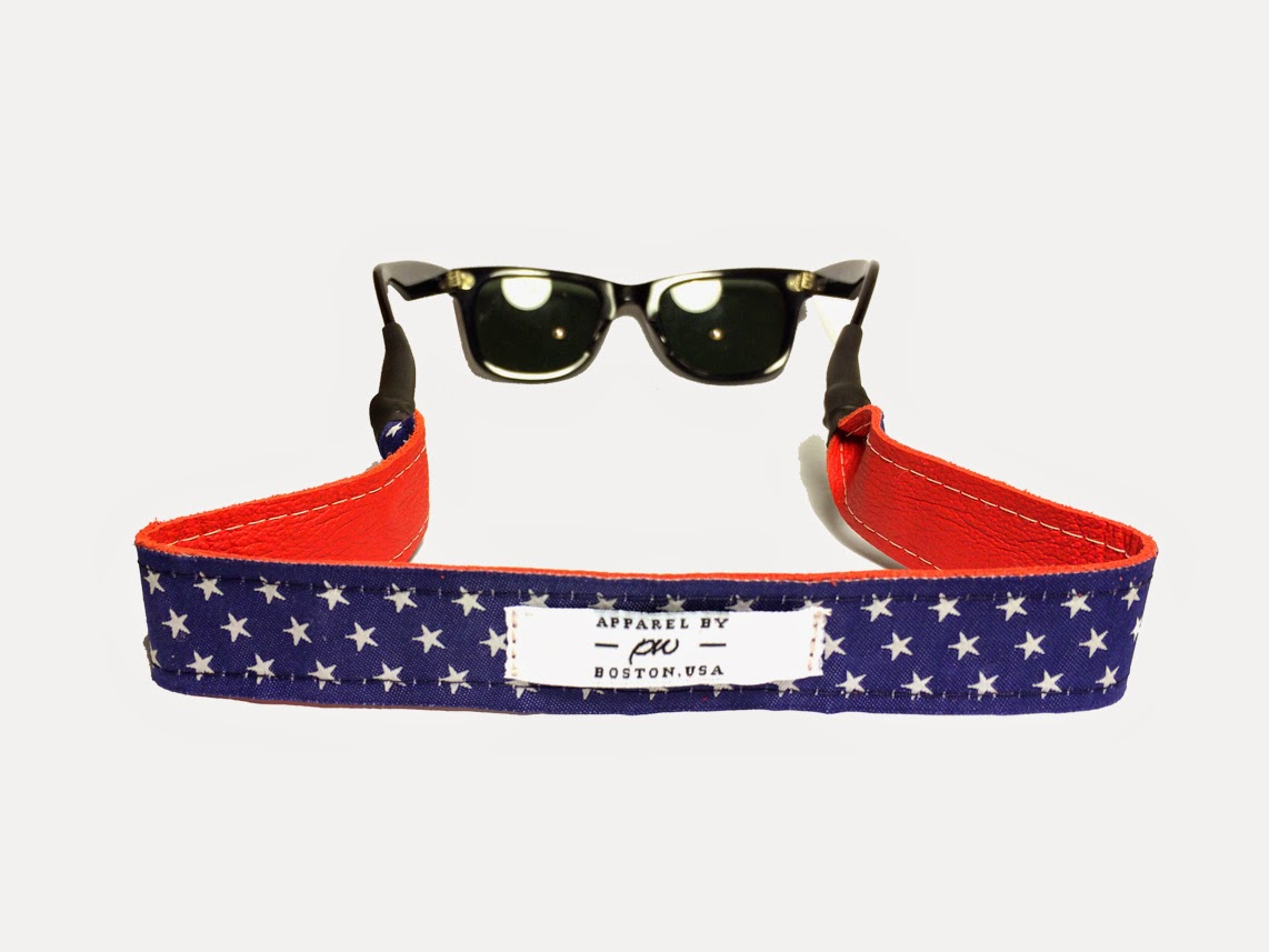 Apparel by PW sunglasses straps and belts