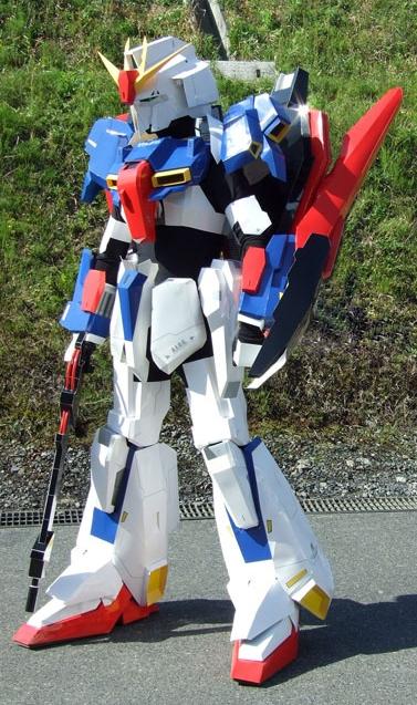 Gundam Meisters: Gundam Cosplay: Zeta Gundam