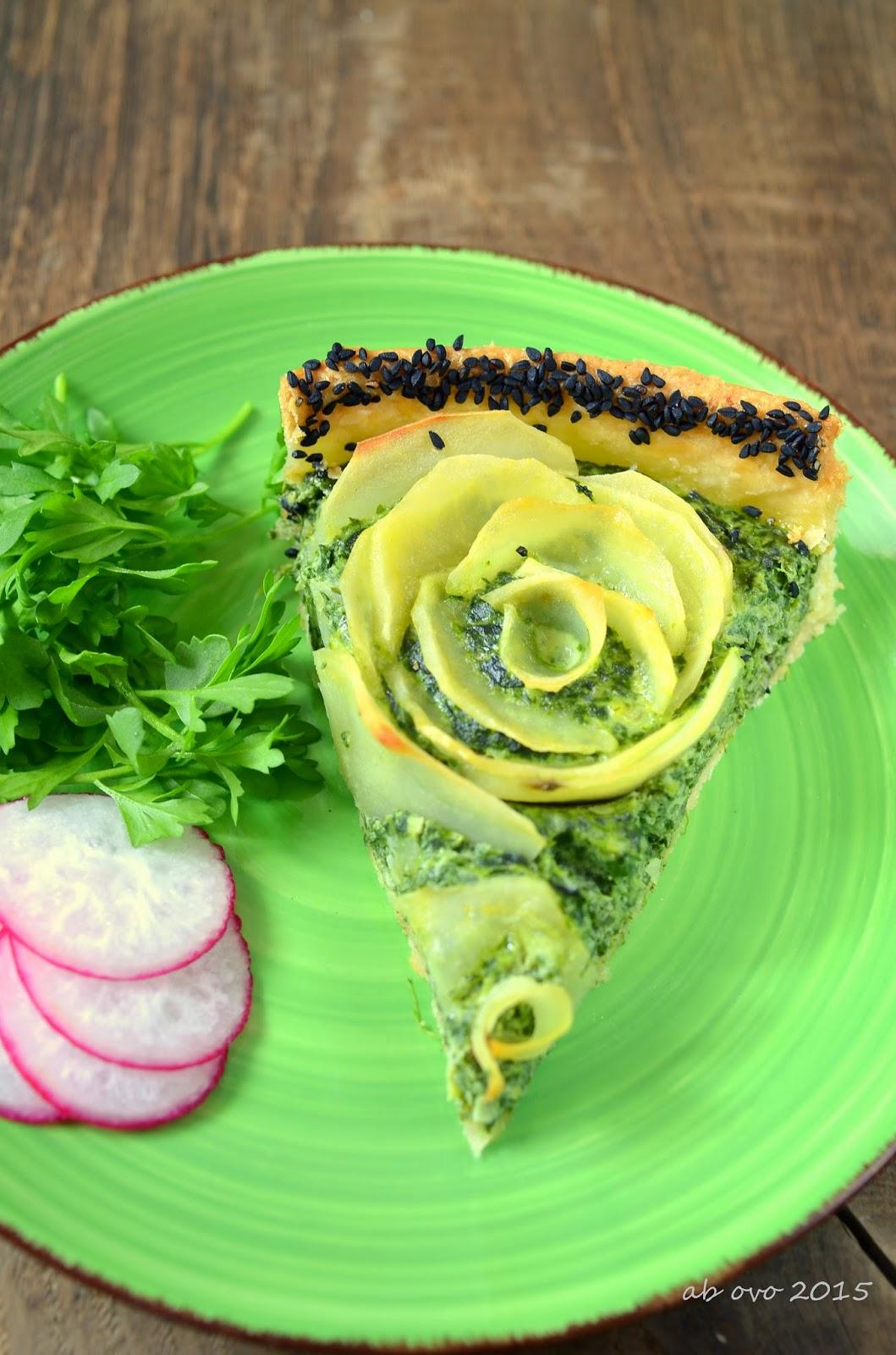 Torta-salata-con-erbette-e-patate-Brisee-di-Michel-Roux