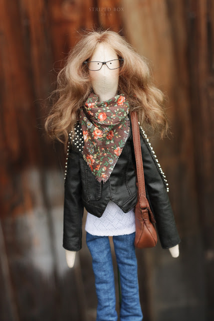 portrait custom doll