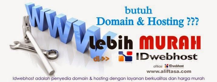 IDwebhost Web Hosting Murah & Domain Murah Indonesia