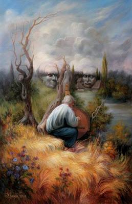 15 pinturas estilo ilusiones ópticas by Oleg Shuplyak