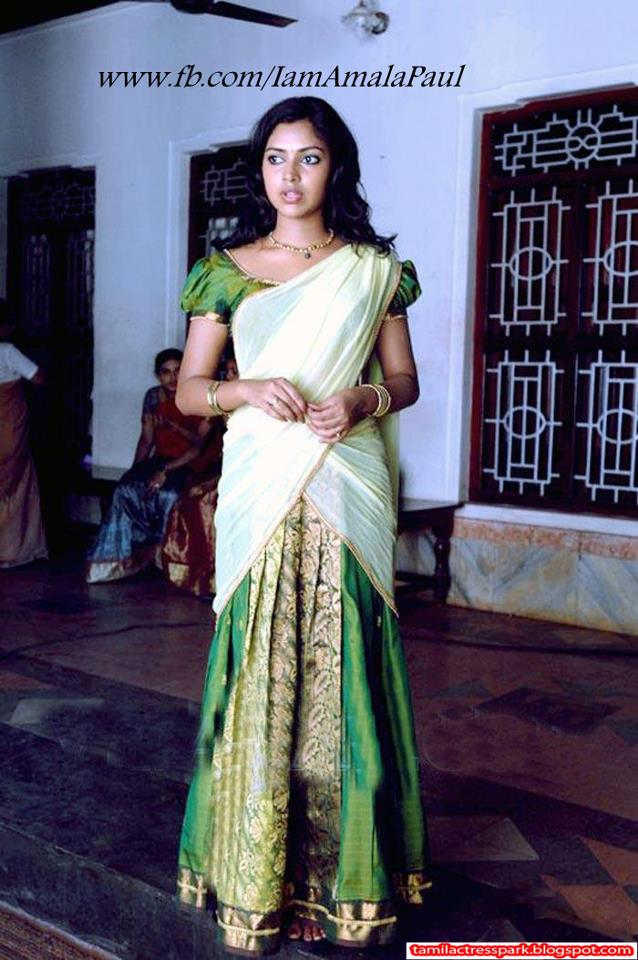 half saree at amalapal