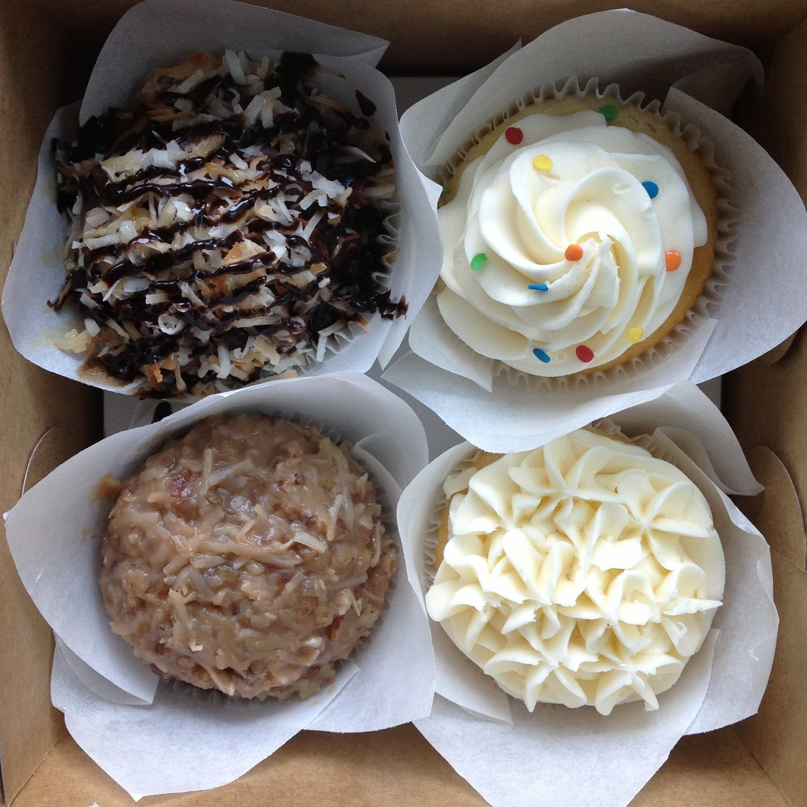 Sweet NOLA Cupcakes Bakery New Orleans LA Central Business