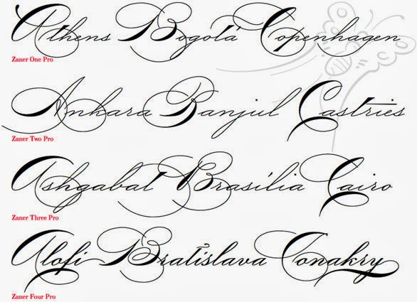 Cursive Handwriting Fonts Homework Service