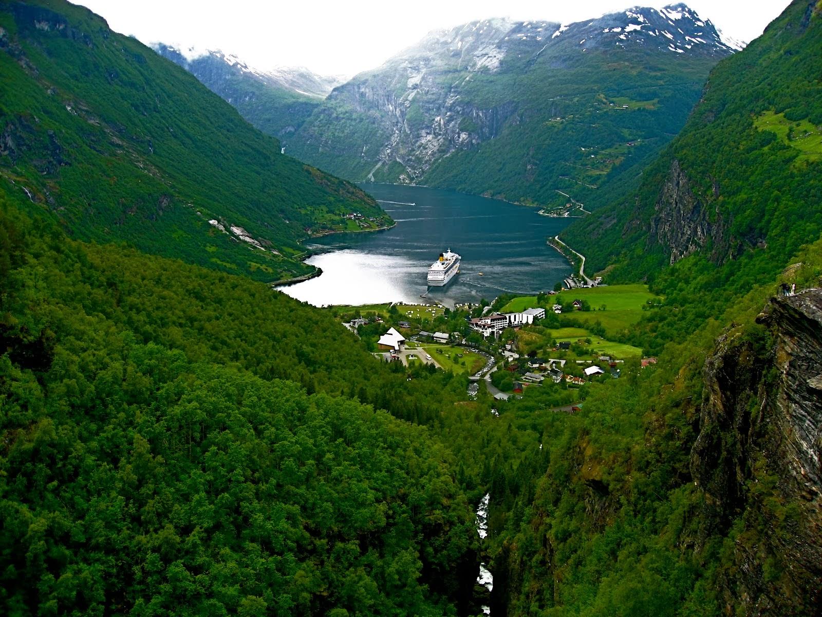 Geirangerfjord,  Norway: