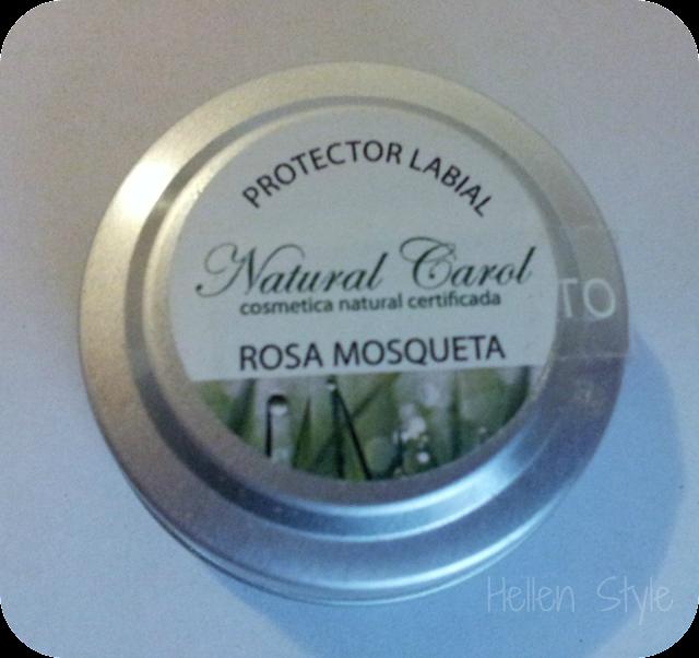 Protector labial de rosa mosqueta de Natural Carol