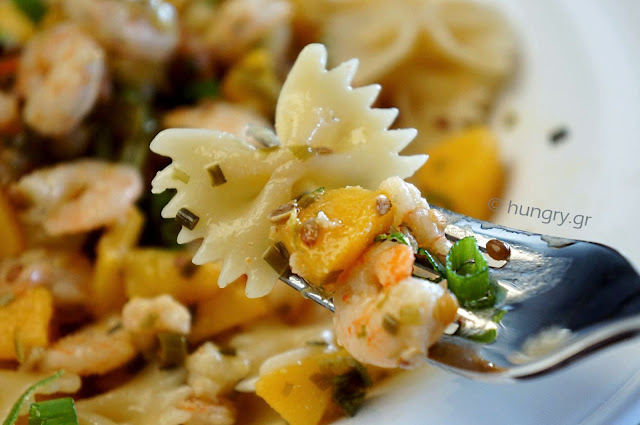 Shrimp Bow Tie Pasta