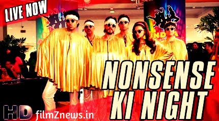 Nonsense Ki Night Video Song From Happy New Year (2014) feat, Shah Rukh Khan, Mika Singh