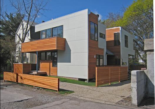 Fotos de techos porches de casas modernas fotos for Casas feng shui arquitectura
