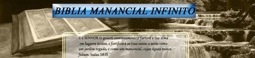 Bíblia o Manancial Infinito!!