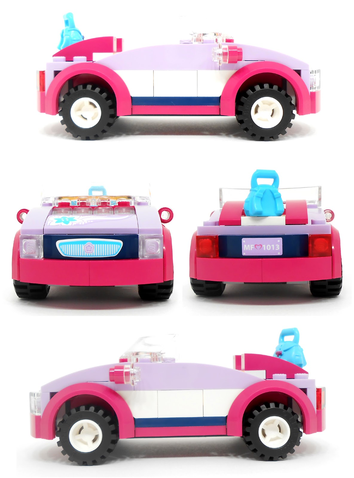 lego friends car instructions