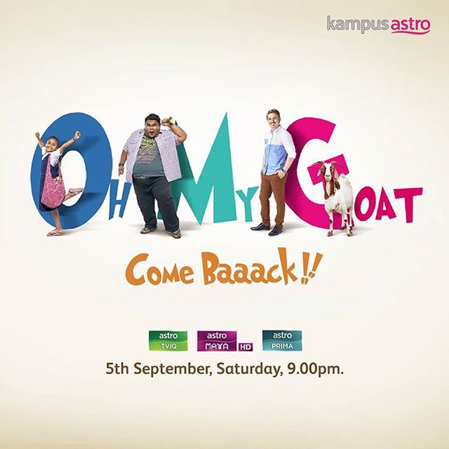 Tonton Oh My Goat Come Baaack! Telemovie