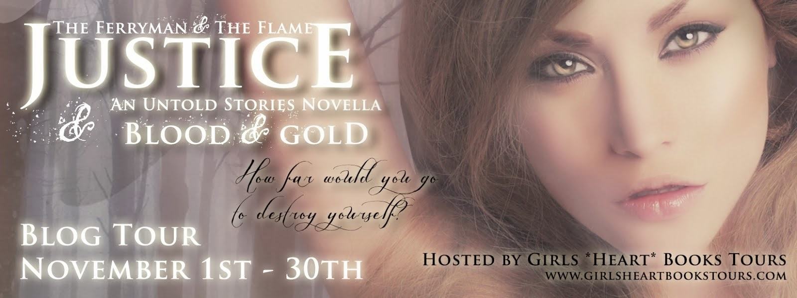 Justice/ Blood and Gold Blog Tour