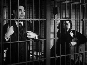 Cary Grant y Katherine Hepburn en La fiera de mi niña