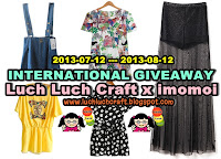 imomoi x Luch Luch Craft Giveaway