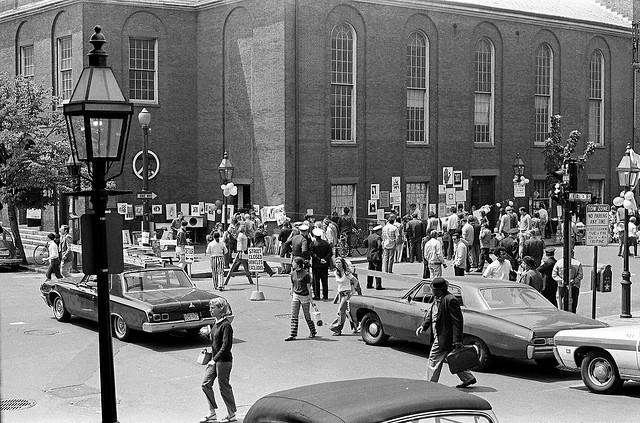 Charles Steet Fair Boston 1970 Vintage Everyday