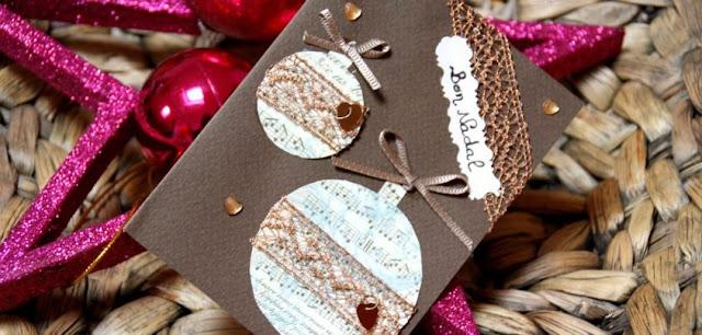 os presento a nuestras postales navideas para que adornen tu casa tu rbol o tu oficina con doble hoja para que dentro puedas escribir tus mejores with