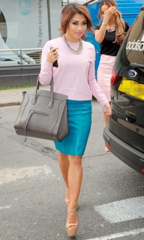 Vanessa vinyl skirt