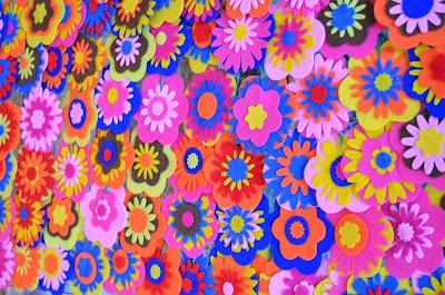 flores de fieltro a mano