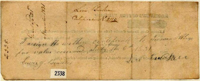 Reverse-Land Patent #2338