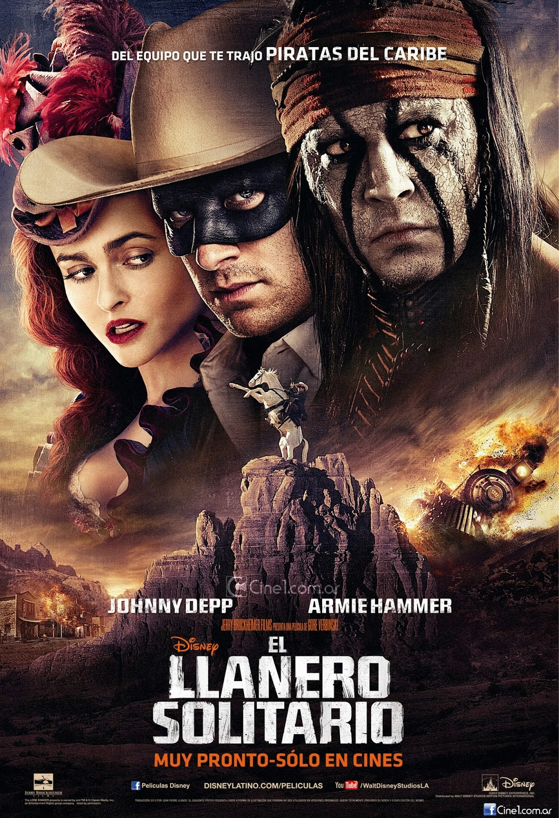 Descarga El Llanero Solitario 1080p (2014) 1 link Audio Latino