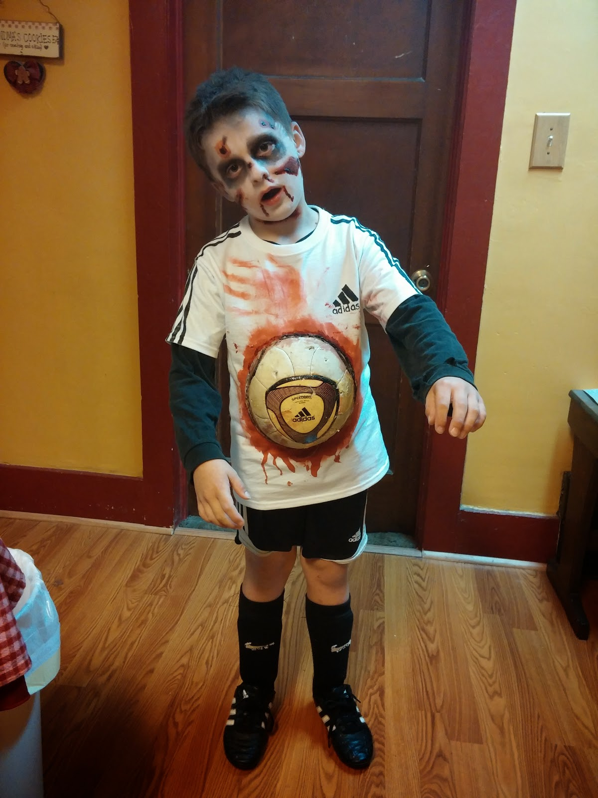 Livin Generic Zombie Soccer Play How To Halloween