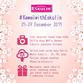 Info Kontes - Kontes #KawaiiwithEskulin Berhadiah Jacket dan Paket cantik