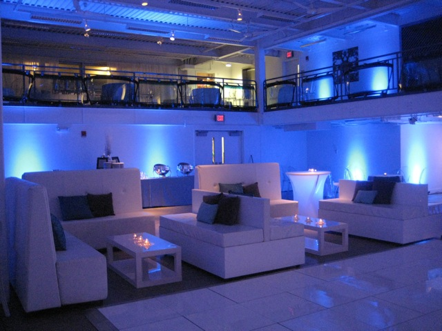 Dana Markos Events; Event Design and Floral Styling: Lounge Furniture