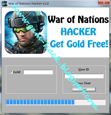 War Of Nations Hacker for iOS & Android - GET UNLIMITED GOLD FREE