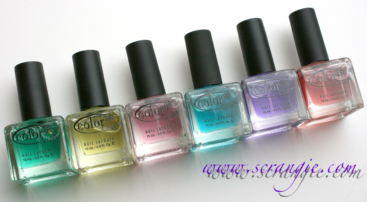 Scrangie: Color Club Copy Coats Scented Topcoat Collection Spring ...