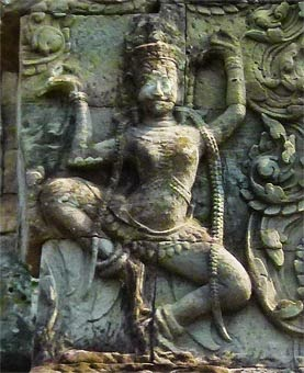 Apsara at Angkor Thom (1)