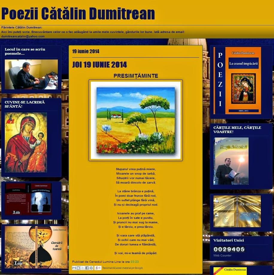 Blogul de poezii