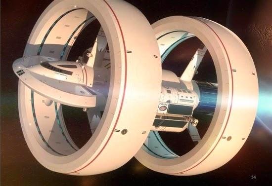 Inilah Desain Enterprise Berkecepatan Warp Rancangan NASA