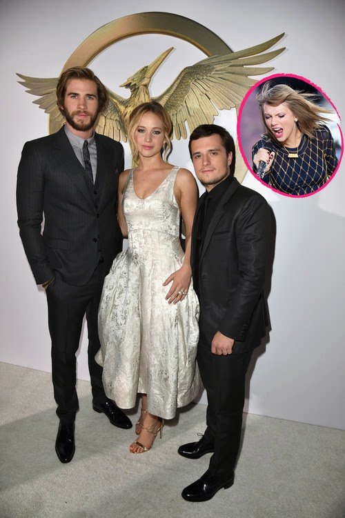 Funny! Jen Lawrence & Co. covers Taylor Swift | Surprise Visit to the Studio