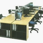 Kantor Partisi Modera Workstation 2-3-Series
