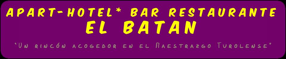 APART-HOTEL* RESTAURANTE EL BATAN