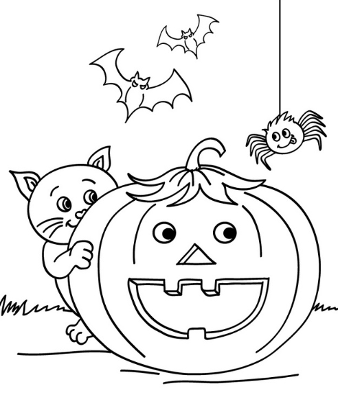Halloween ya está aquí!! ^(♢.♢)^ Juegos para niños | Miss Peguitos ...